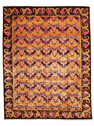 Darya Rugs Modern Oriental Rug, Pink, 8' 10