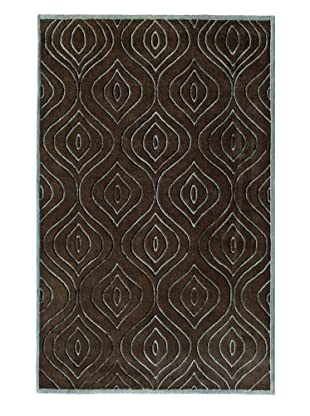 Rugs America Urban Chocolate Diamond (Chocolate Diamond)