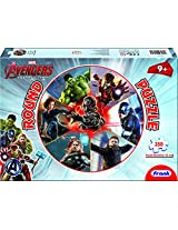 Frank Avengers - Age of Ultron Round Puzzle, Multi Color (350 Piece)