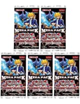 YuGiOh 5x Legendary Collection 4 Joeys World Mega Pack Booster Packs LC04 LCJW