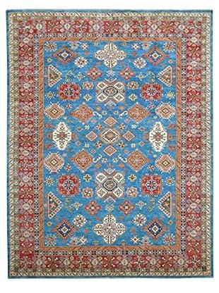 Kalaty One-of-a-Kind Kazak Rug, Blue, 8' 10
