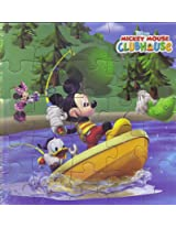 1 piece of Disney Mickey Mouse 24pc 6-Astd. Jigsaw Puzzle