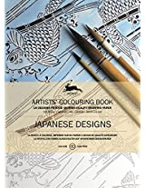 Japanese Designs: Artists' Colouring Book (Pepin Artist Colouring Book)