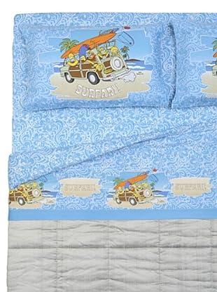 Cartoons Home Completo Letto Simpsons Aloha (azzurro/sabbia)
