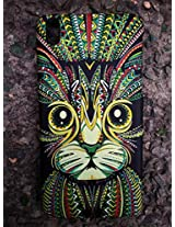 GVC 2015 SHINES IN DARK LIMITED EDITION 3D cute Cartoon Animal world CAT Phone Case Cover For HTC DESIRE 816 : CAT