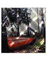 Next Innovations WA2RestingCanoe 22-Inch by 22-Inch Resting Canoe by Kathy Anderson Wall Art