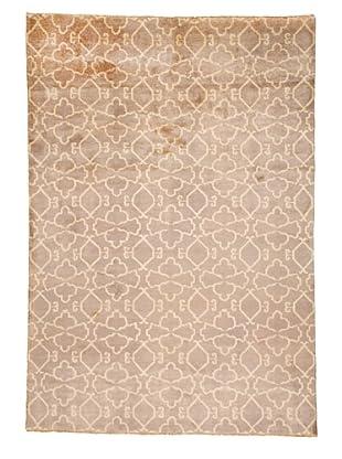Azra Imports Vogue Rug, Grey/Ivory, 5' 4