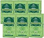 Set of 5 Organic India Tulsi Green 25 Tea Bags Box - Free 1 Tulsi Green Tea Box