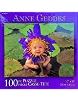 Anne Geddes 100 Piece Puzzle Baby In Lily Pads