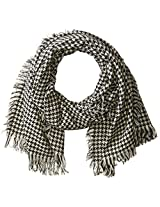 RAMPAGE Women's Houndstooth Blanket Wrap