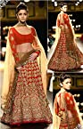 Bollywood Replica Alia Bhatt Red Lehenga Choli