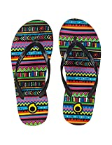 TRIBORD TO100 PRINT WOMEN'S FLIP-FLOPS (EU 37-38  UK 4-5)