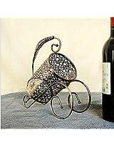 New fashion retro bronze wine rack Continental Iron wine rack series Home Furnishing ornaments