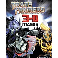 Revenge of the Fallen 3D Masks Book (Transformers 2)