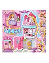 Little Mimi Rapunzel Doll Rapunzel Castle Playset