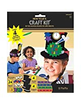 New Years Top Hat Craft Kit 4 Pack