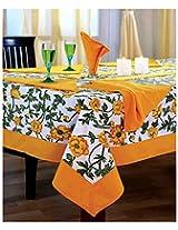 SWAYAM Cotton 10 Piece Kitchen Linen Set - Yellow