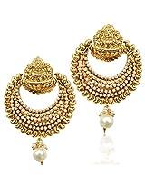 pearl ethnic earring