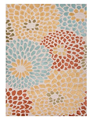 Jaipur Rugs Hand-Tufted Durable Rug (Ivory/Red)
