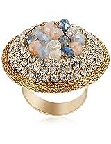 Shaze Ring for Women (Golden) (RING XJR710)