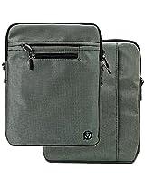 Vg Inc Laptop Messenger Bag (Silver)