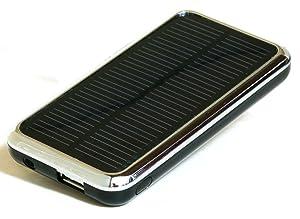 ソーラー 充電器 i3500s ブラック iphone iPad などの充電に最適