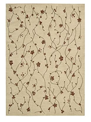 Calvin Klein Home Woven Textures Rectangle Rug (Beige)