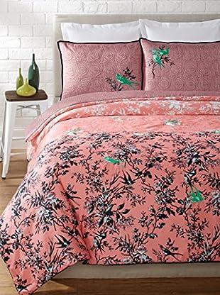 Nanette Lepore Botanical Porcelain Comforter Set