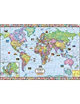 World Political Map (100 x 70 cm)