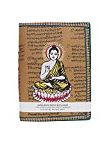 R S Jewels Buddha Printade Handmade Paper Multi Color Diary