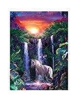 Masterpieces 500-Piece Jigsaw Puzzle, 14 by 19-Inch, Crystal Falls
