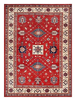 Bashian Rugs One-of-a-Kind Hand Knotted Paki Shirvan Rug, Red, 9' 1