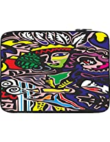 """Snoogg 12"""" inch to 12.5"""" inch to 12.6"""" inch Laptop Notebook Slipcase Sleeve Soft Case Carrying Case for Macbook Pro Acer Asus Dell Hp Sony Toshiba"""
