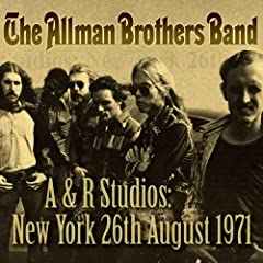 A &amp; R Studios: New York, 26th August, 1971