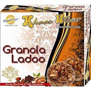 Organonutri Granola Ladoo Cocoa Almonds, 20 Ladoo Pack