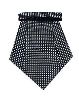 Navaksha Micro Fibre Black Cravat