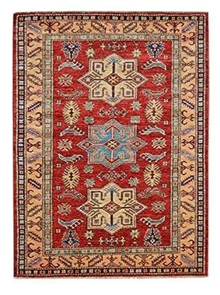 Kalaty One-of-a-Kind Kazak Rug, Red, 3' 5