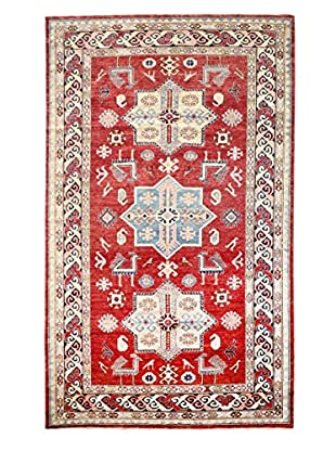 Bashian Rugs One-of-a-Kind Hand Knotted Kazak Rug, Red, 5' 8