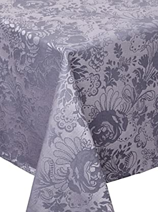 Garnier-Thiebaut Mille Damasse Tablecloth (Métal)
