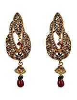 Agarwal Bentex Gold Plated Traditional Earrings For Women