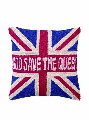Peking Handicraft Save The Queen Hook Pillow