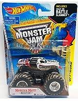 Hot Wheels Monster Jam 1:64 Monster Mutt Dalmatian Mud Treads Battler Slammer Truck - New 2015 #29