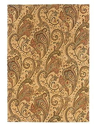 Langley Handspun Wool Rug (Beige/Gold)