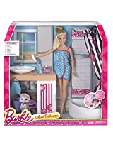 Barbie Deluxe Bathroom, Multi Color