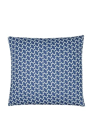 Twinkle Living Lego Pillow Cover, Navy/White, 18
