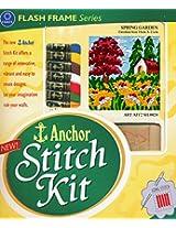 Anchor Stitch Kit - Spring Garden