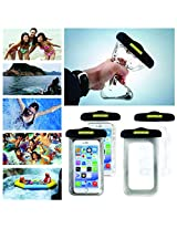 WaterProof Mobile Pouch Size 6.3 inch With Neck Lanyard for Phones, Digital Camera, GPS and Other Small Devices