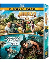 Journey to the Center of the Earth & Journey 2: The Mysterious Island