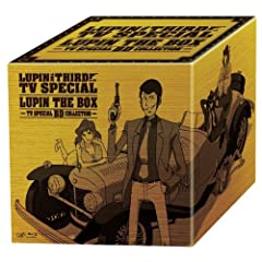 ���p���O�� �e���r�X�y�V���� LUPIN THE BOX~TV �X�y�V����BD�R���N�V����~ [Blu-ray]