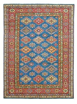 Kalaty One-of-a-Kind Kazak Rug, Blue, 5' 9